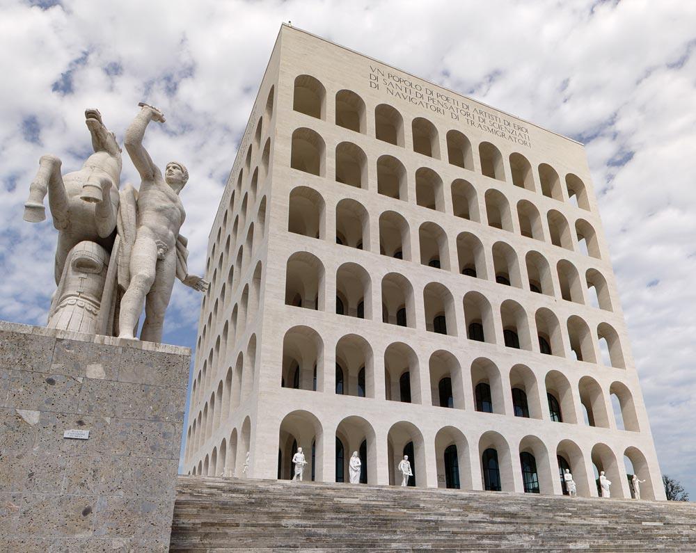 Architettura razionalista a roma 1920 1940 for Architettura fascista in italia