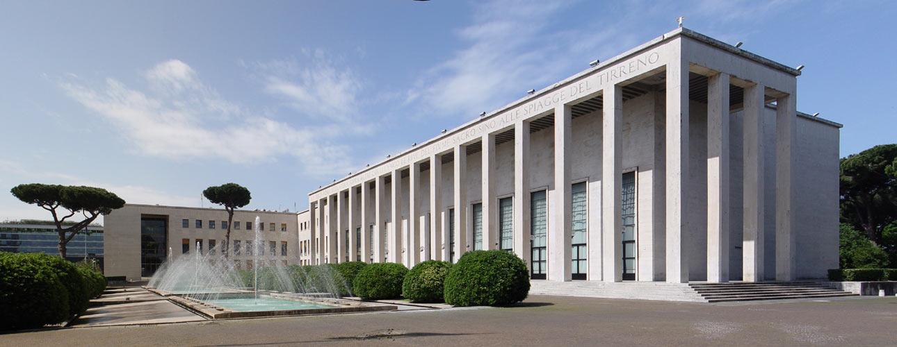 Architettura razionalista a roma 1920 1940 for Uffici roma eur