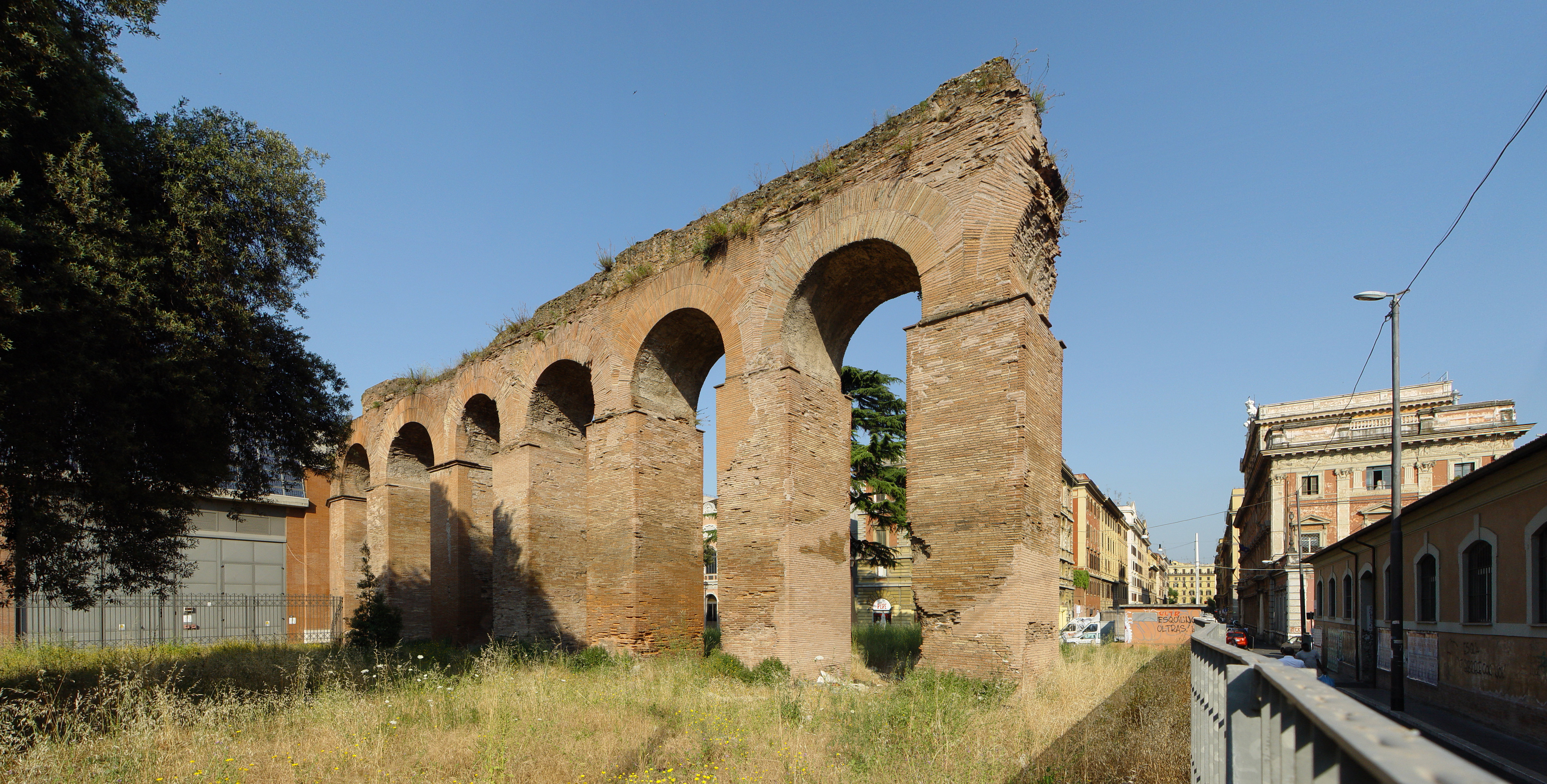Acquedotto Acqua Marcia.Percorso Acquedotti Romani