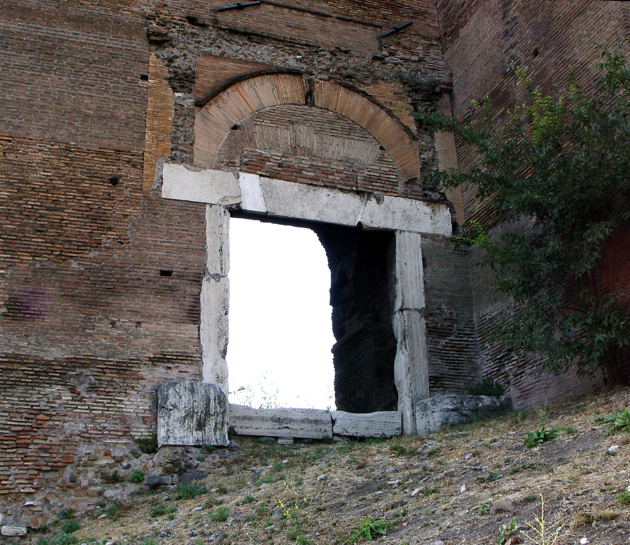Mura e porte di roma - Via di porta ardeatina ...