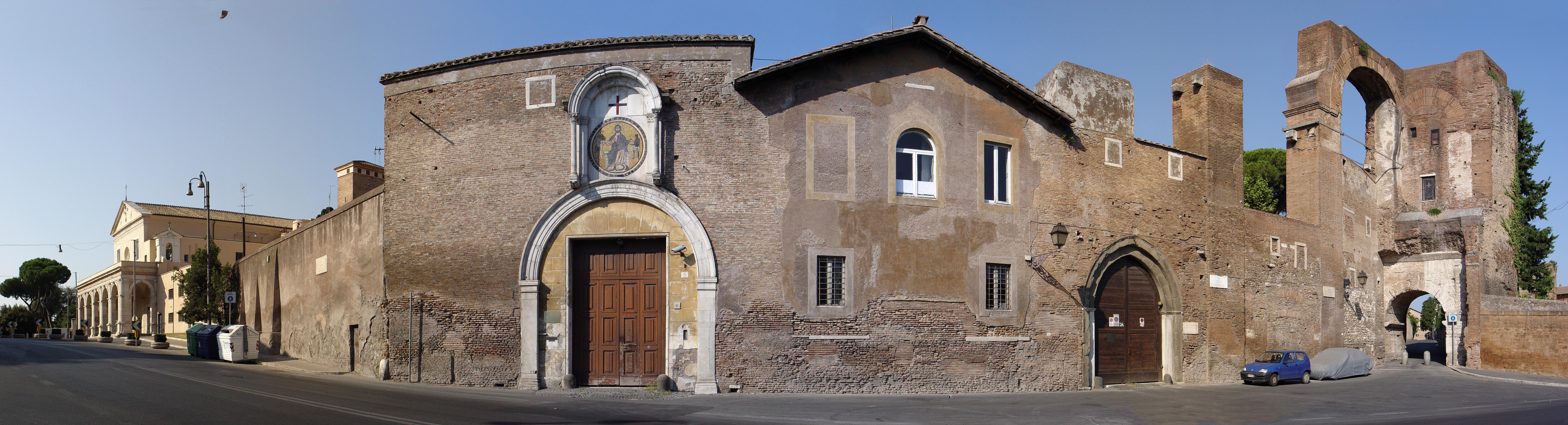 Mura e porte di roma - Sostegno della porta ...
