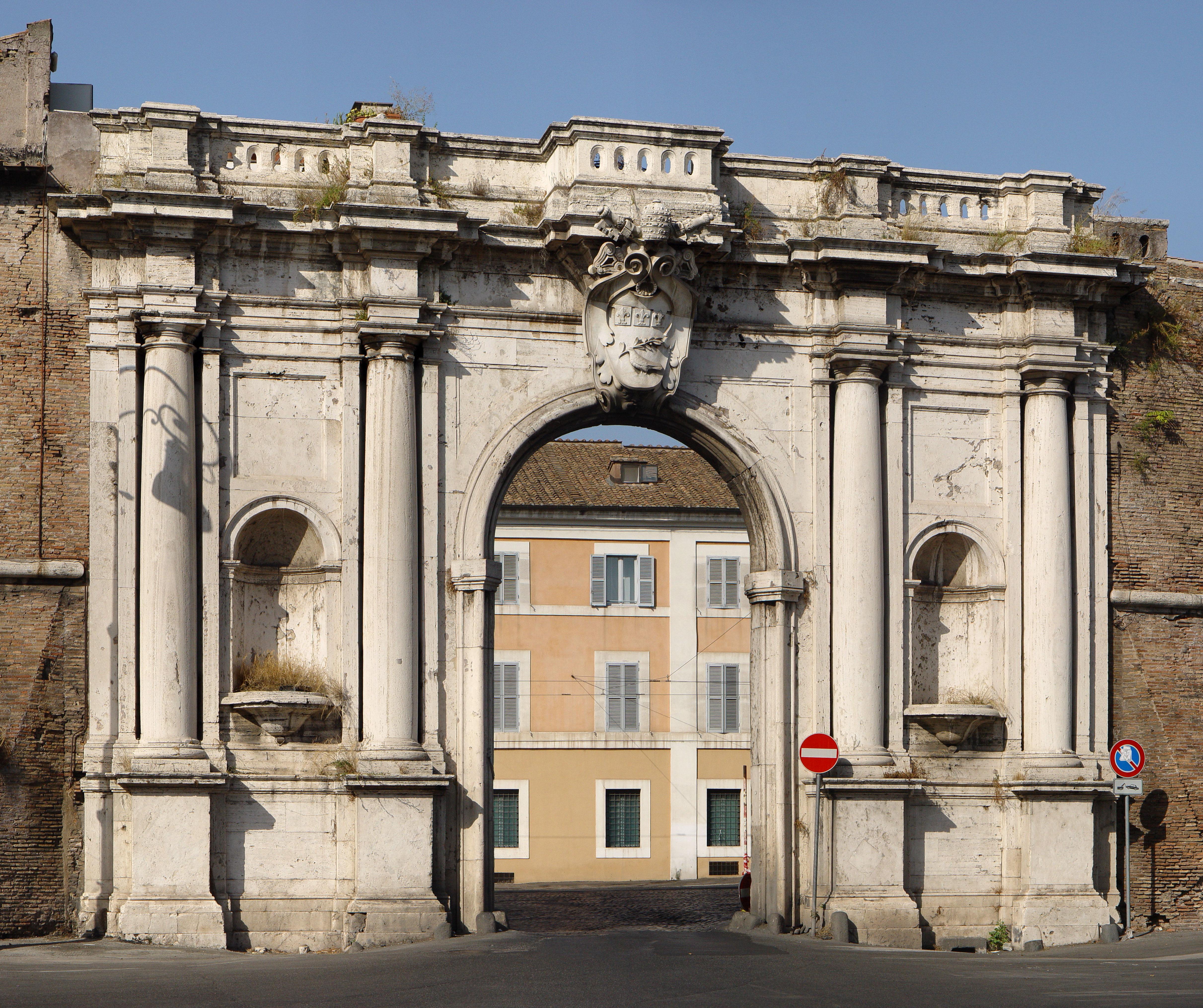 Mura e porte di roma - Porta portese roma case ...