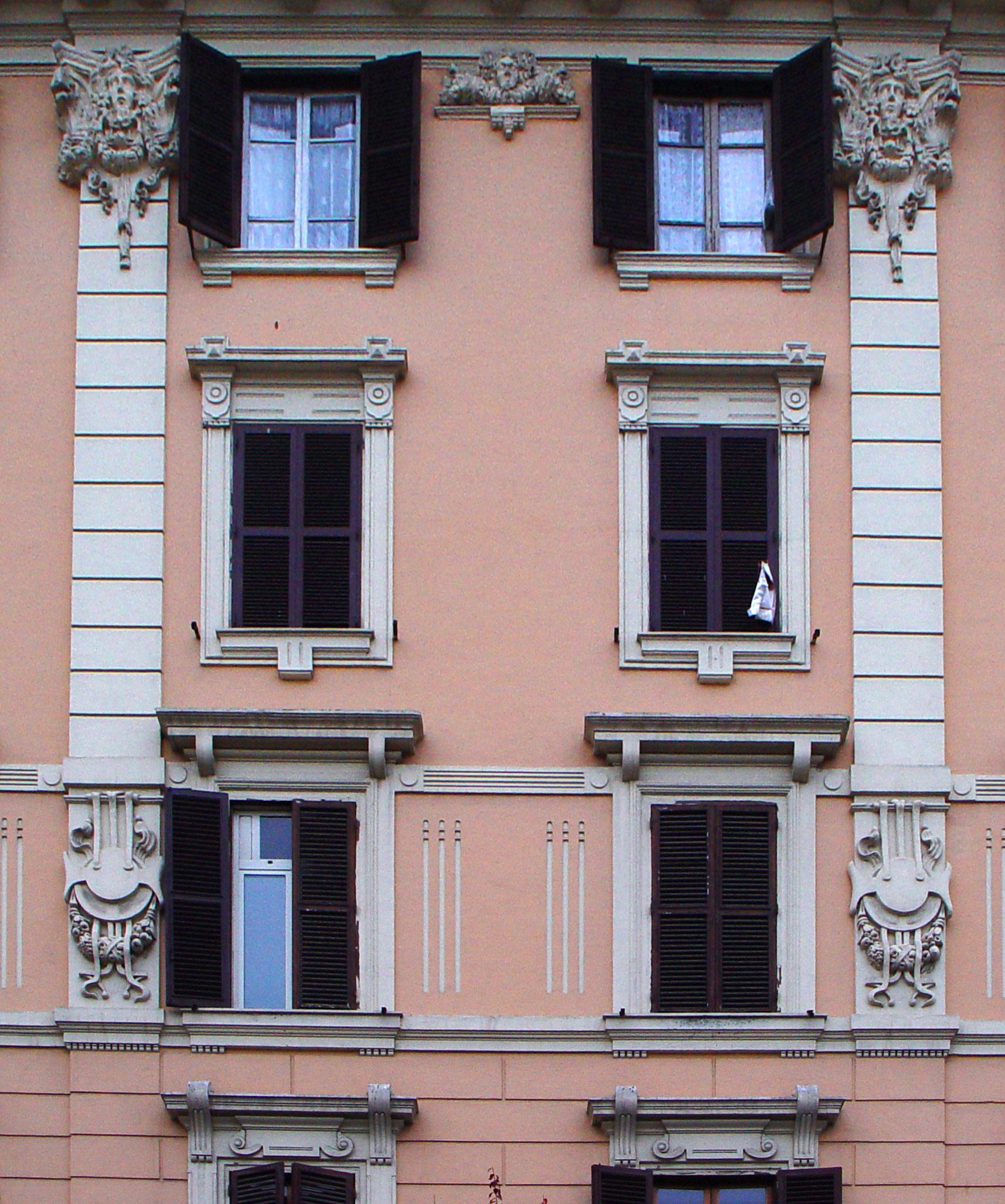 Il barocchetto romano for Piani di un piano in stile ranch