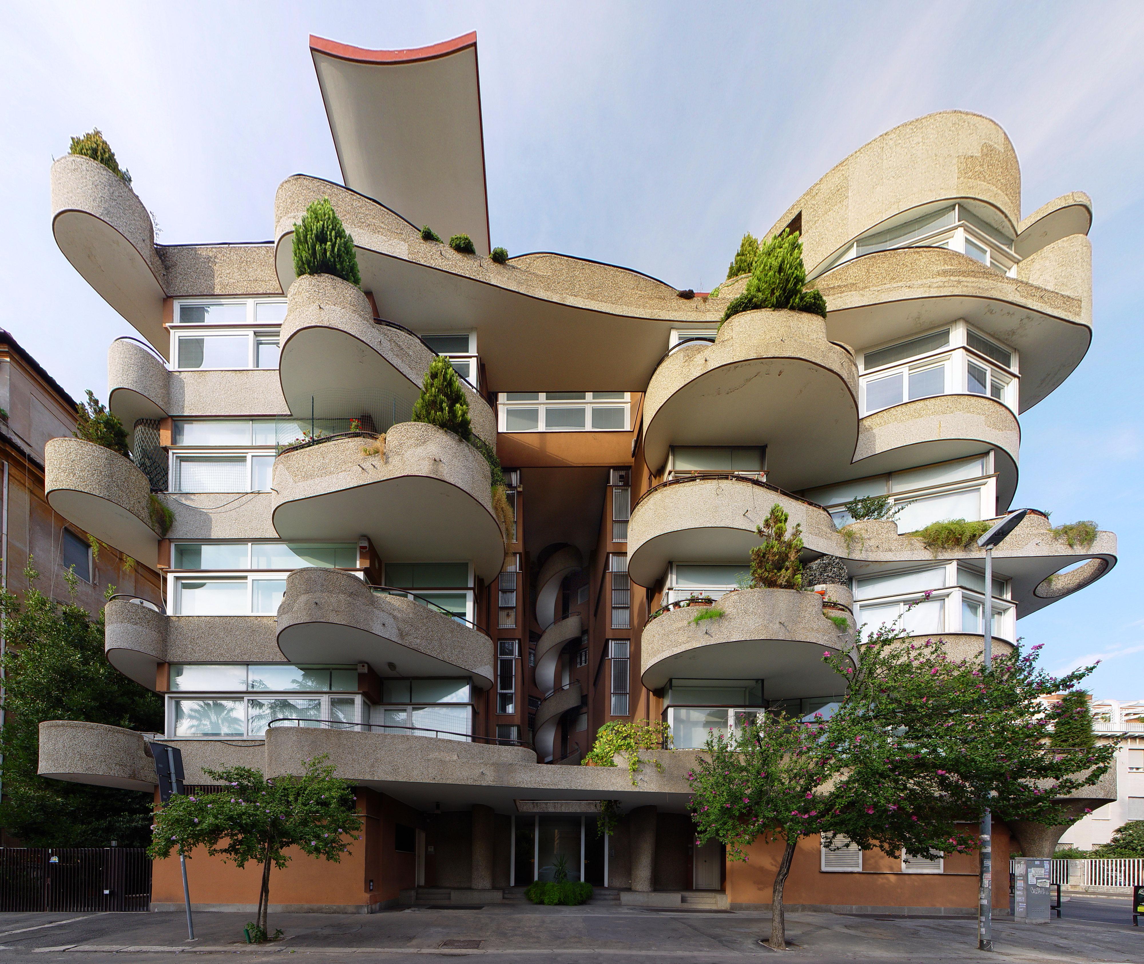 L 39 architettura nel secondo novecento a roma for L architettura moderna