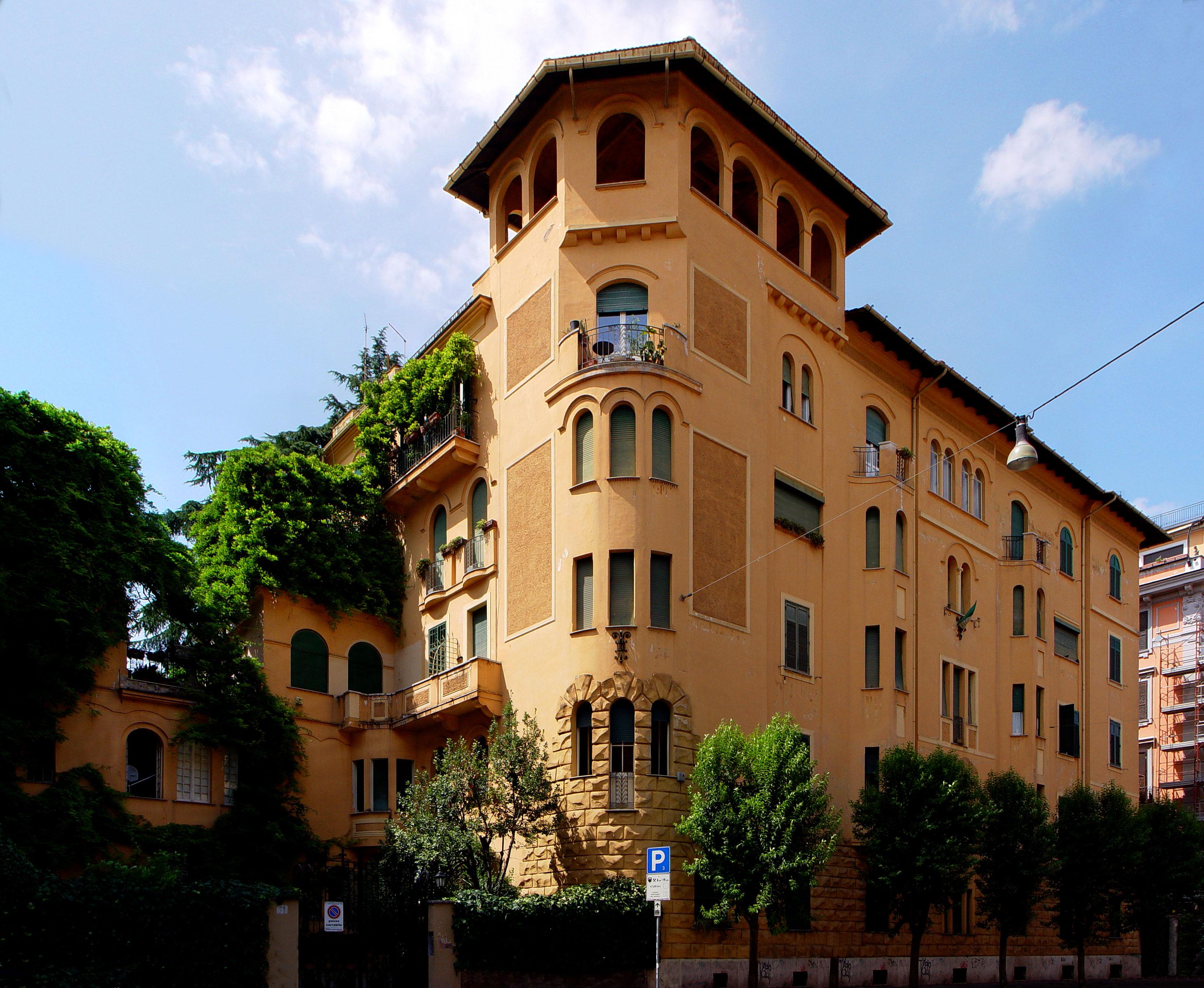 Quartiere Coppede Barocchetto Rom...