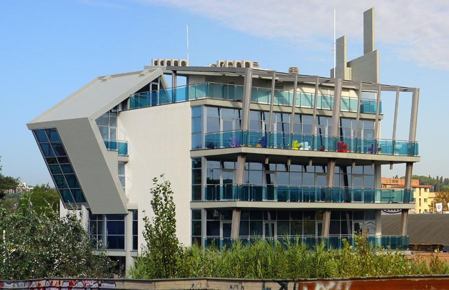 L 39 architettura contemporanea a roma for Architettura residenziale contemporanea
