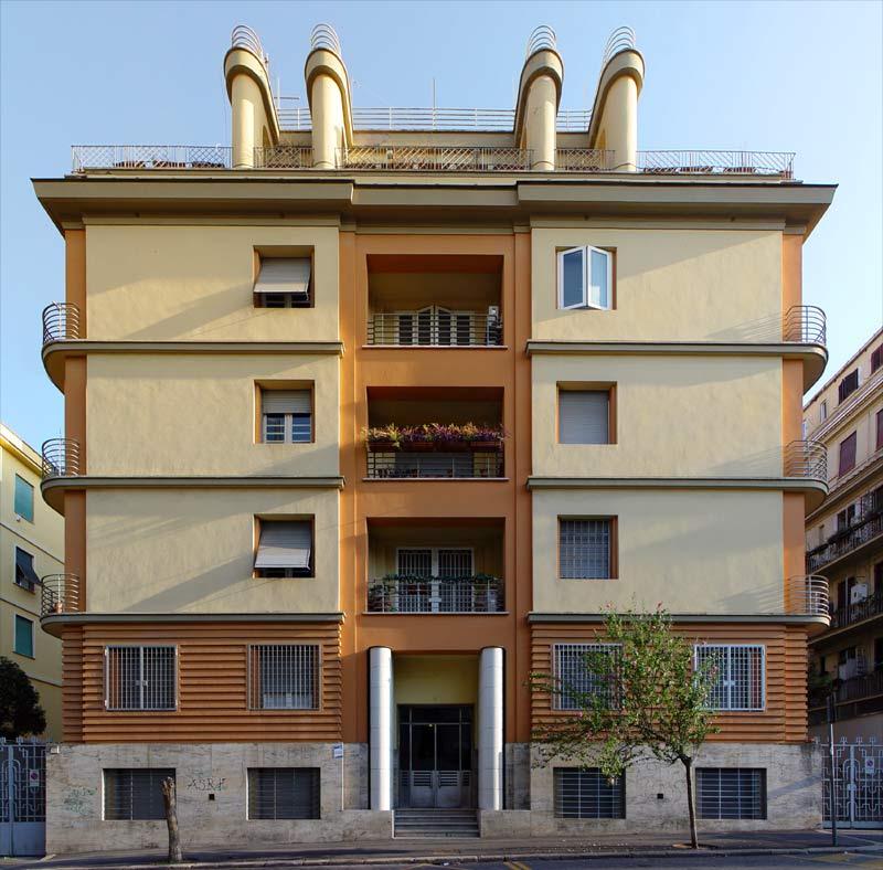 Architettura razionalista a roma 1920 1940 for Palazzine moderne