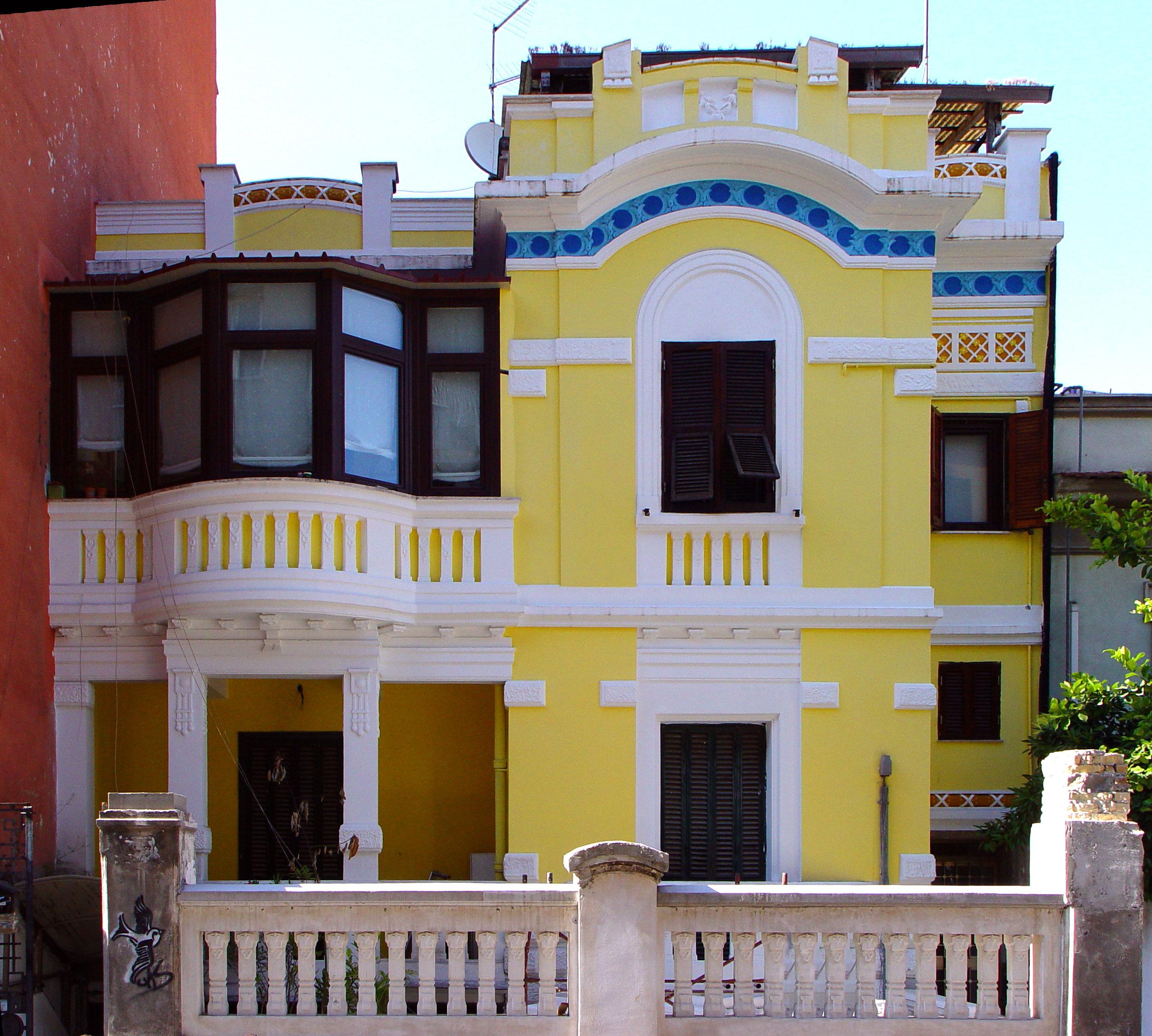 Il quartiere pigneto roma - Casa stile liberty ...