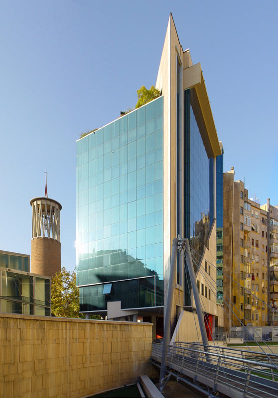 L 39 architettura contemporanea a roma for Centro uffici roma