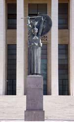 Sapienza Università di Roma: Statua della Minerva